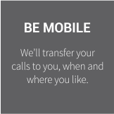 BE MOBILE ICON